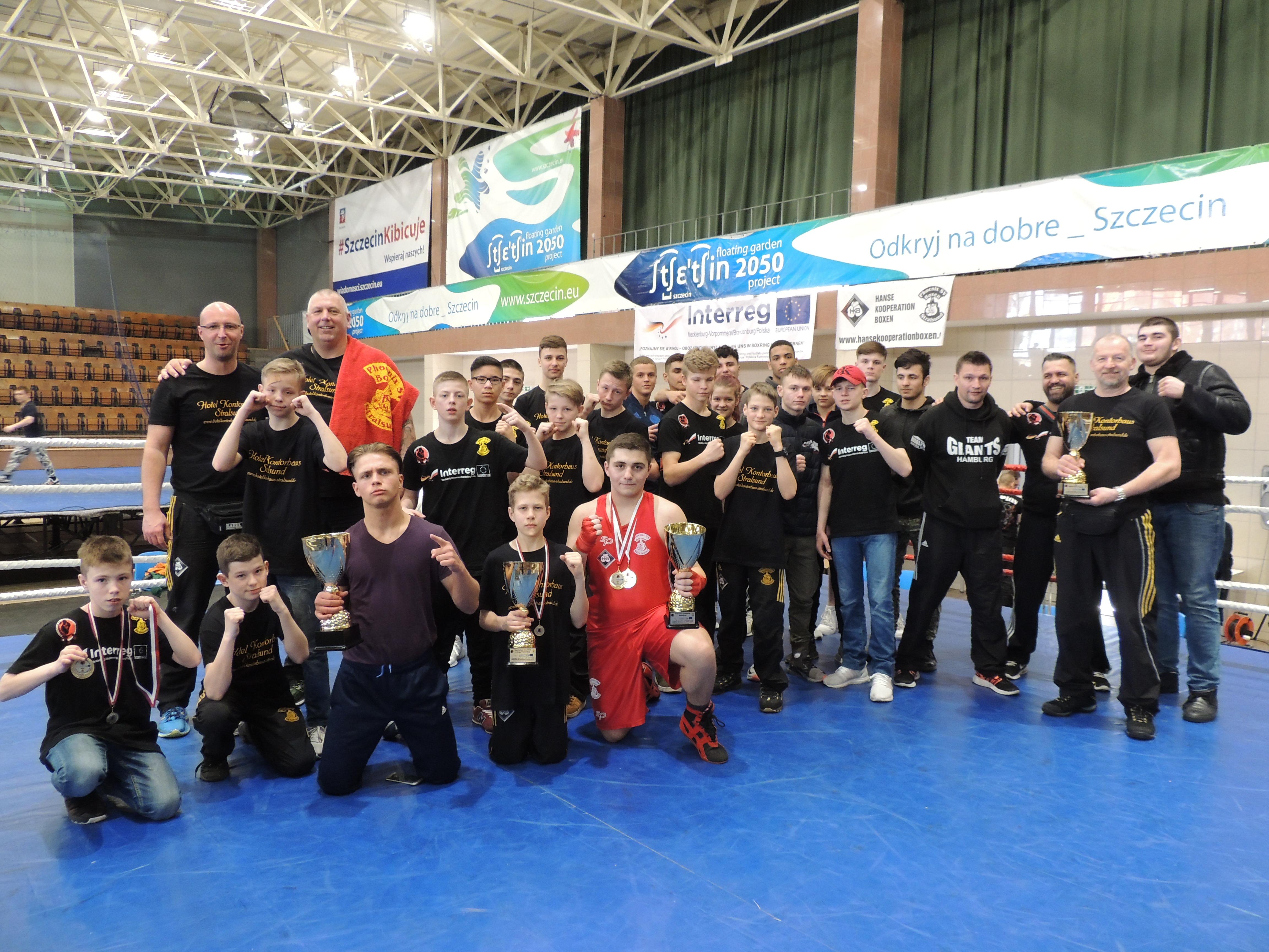Wettkampfteilnehmer der HKB