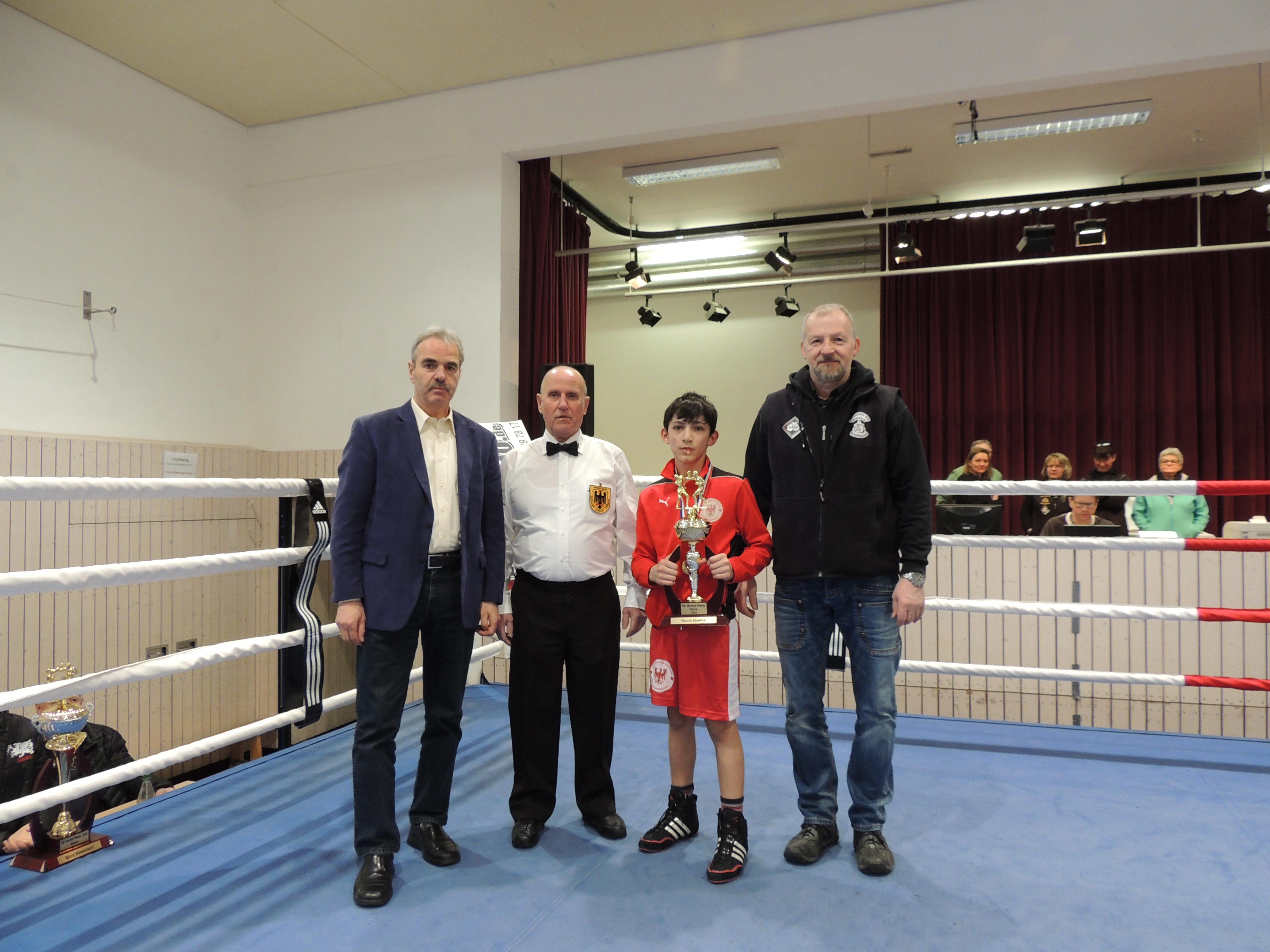Bester Kämpfer - Akram Mazaev (LV Brandenburg)