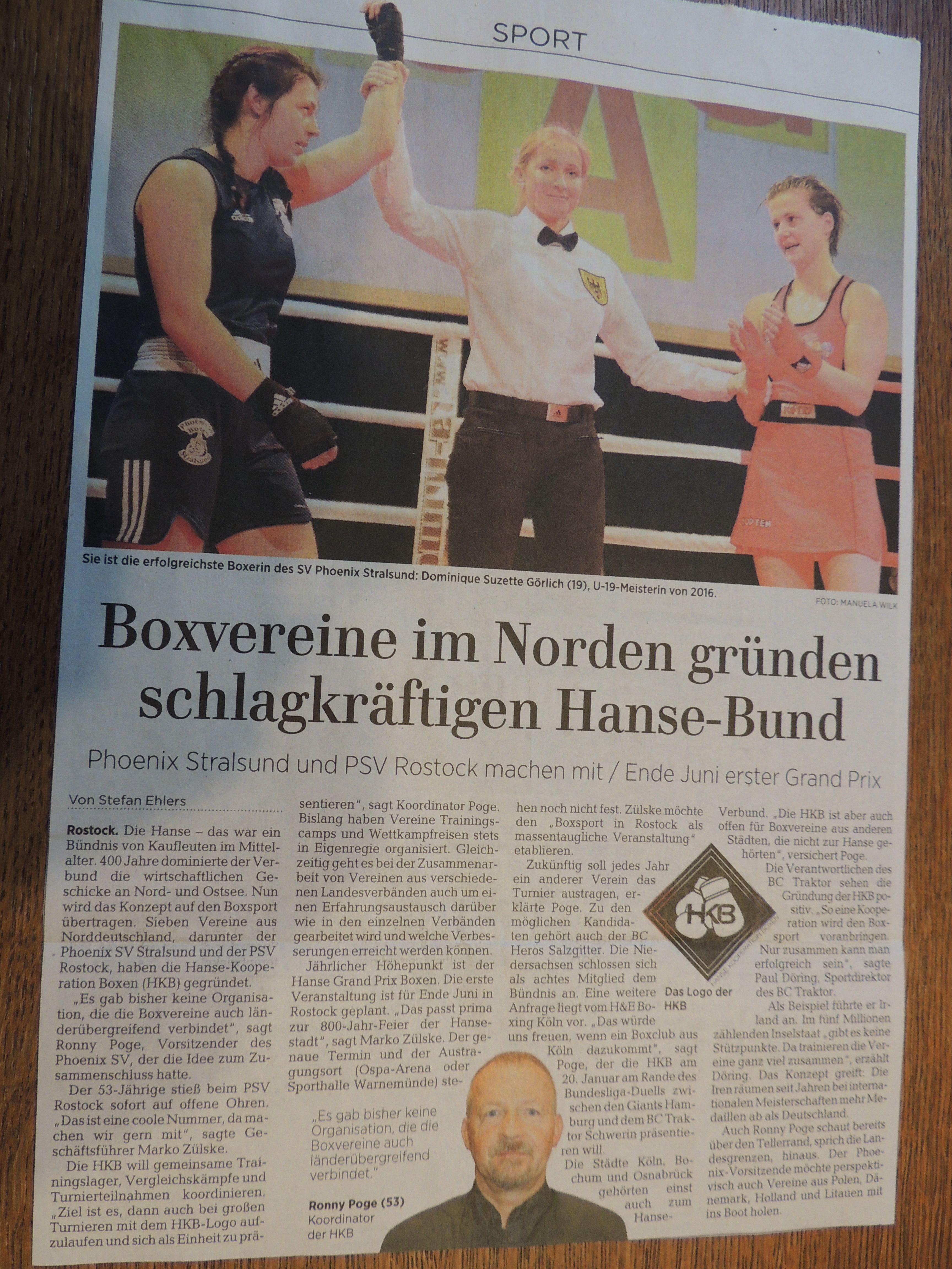 Ostsee-Zeitung 22.12.2017