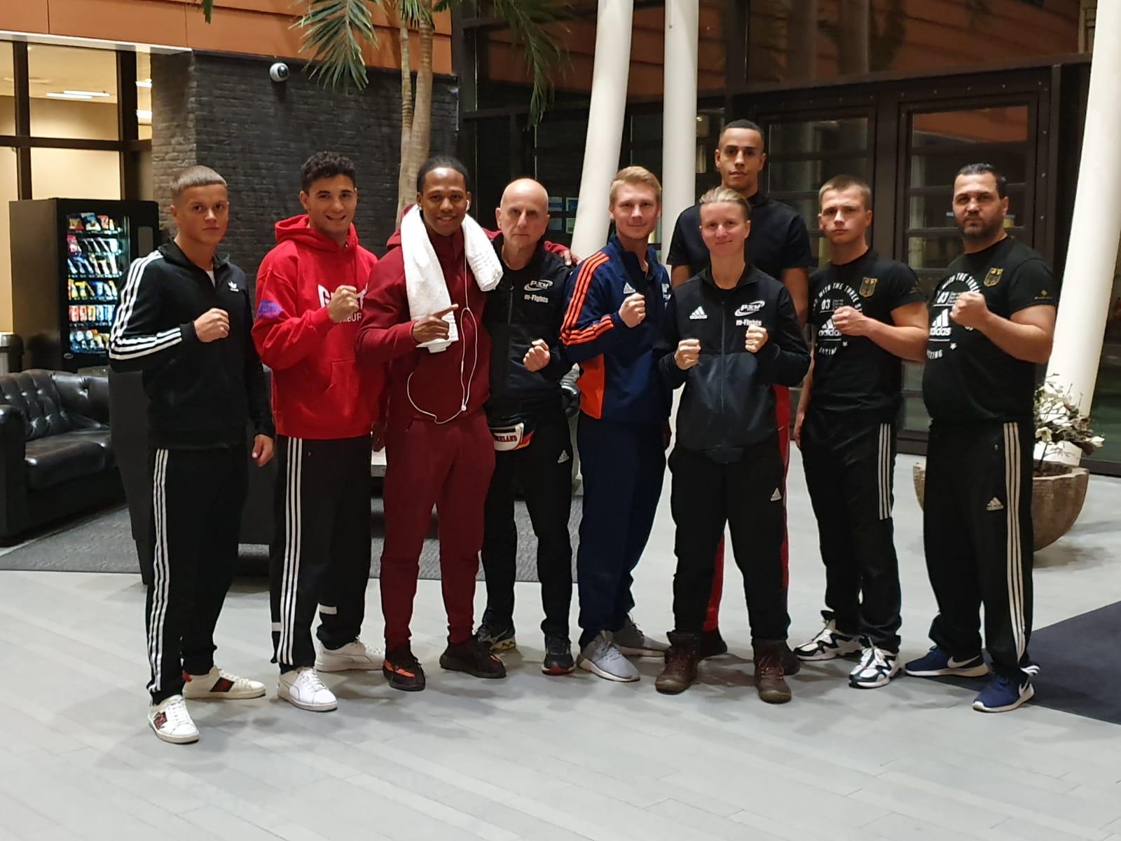 HKB-Team in Rotterdam / Holland
