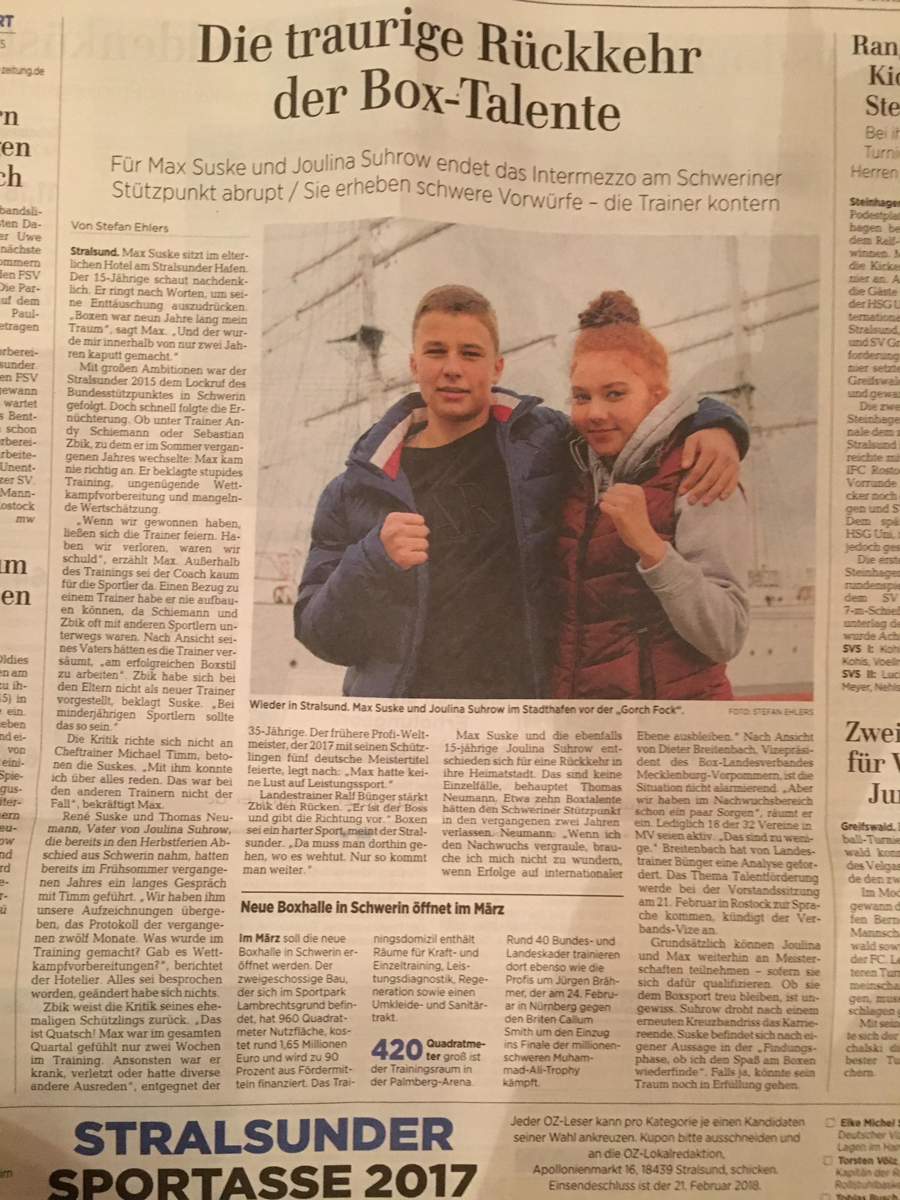 Quelle: Ostsee-Zeitung