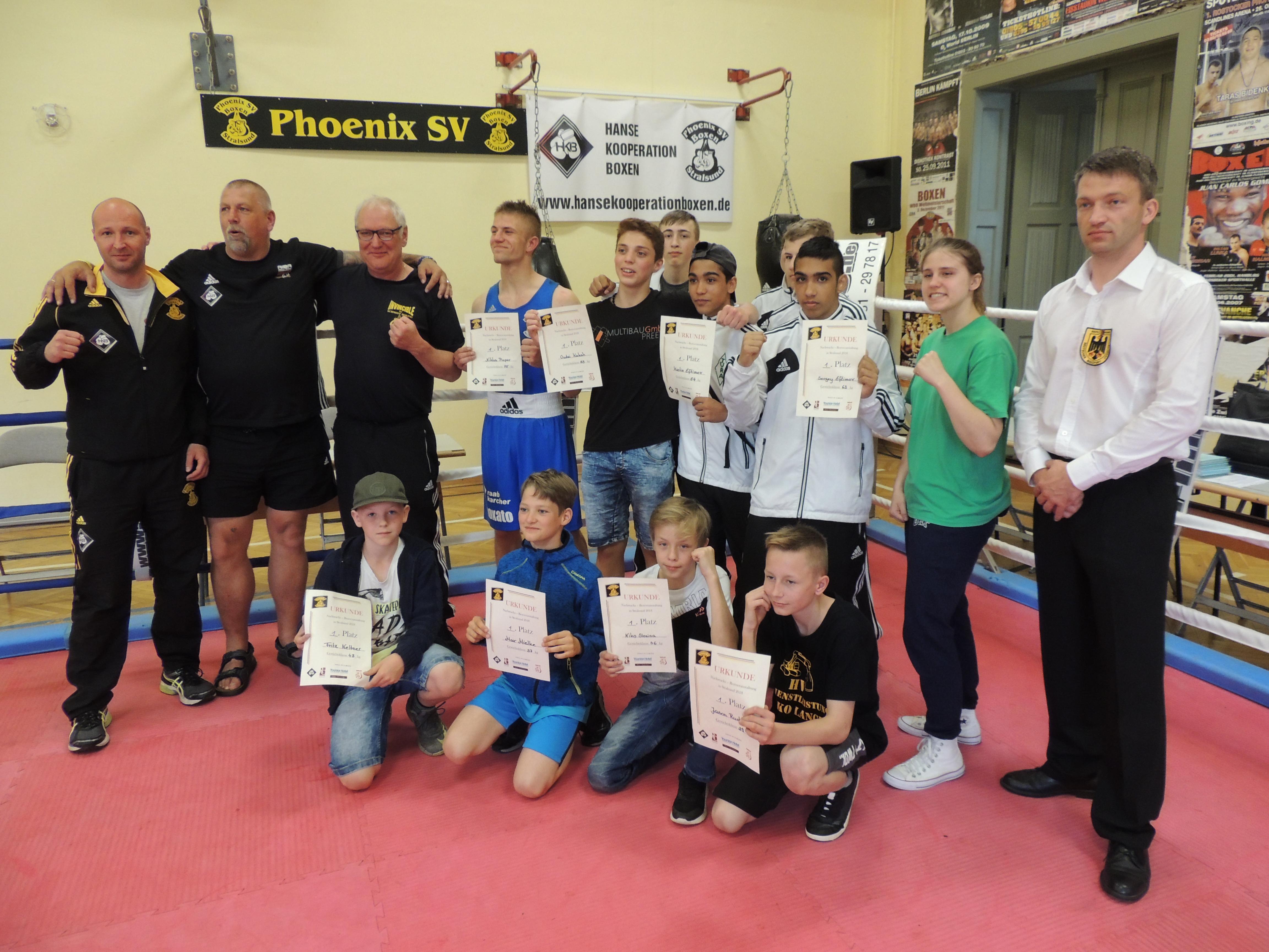 Tura Bremen erfolgreich in Stralsund