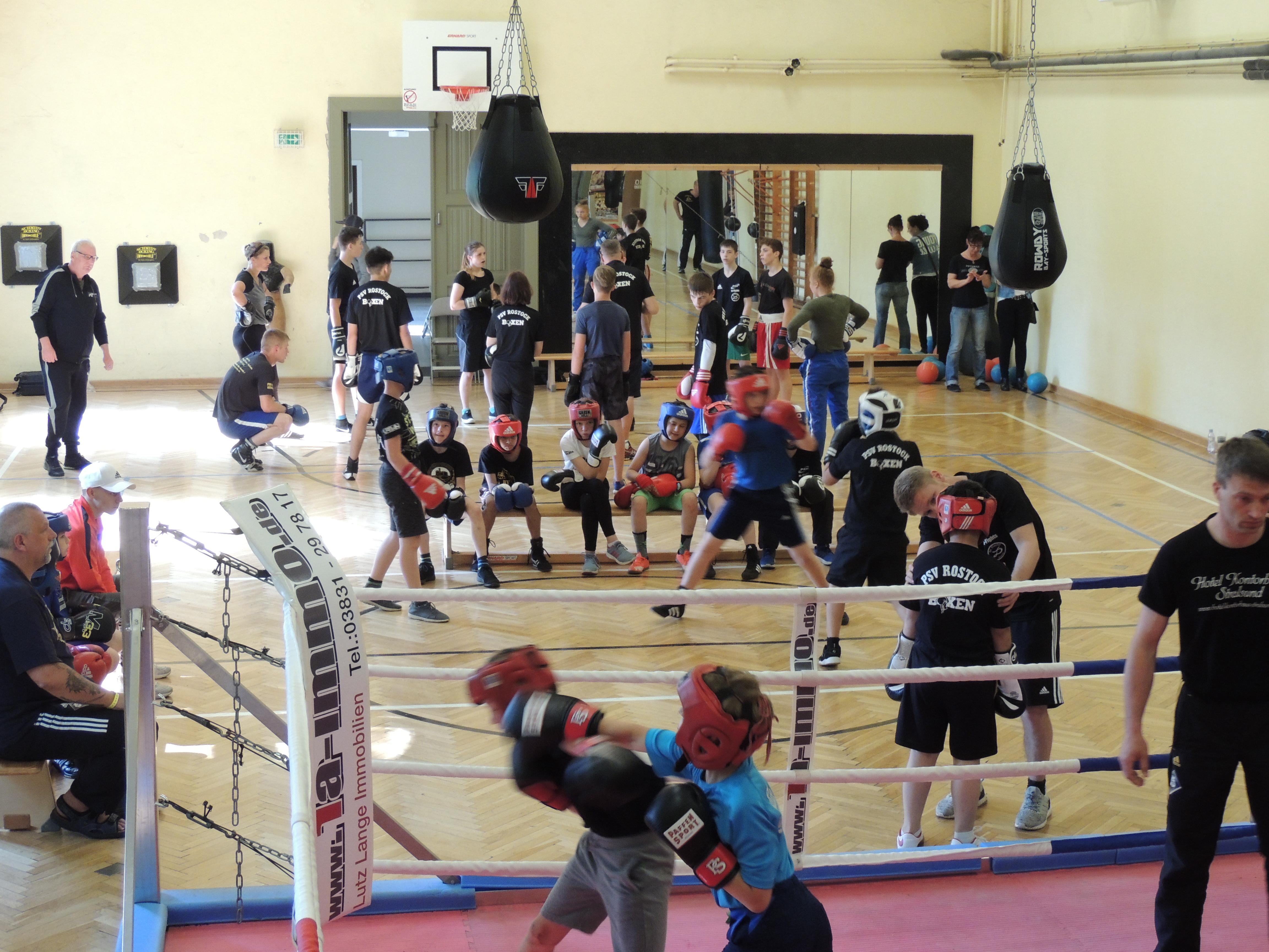 Gemeinsames Trainingslager