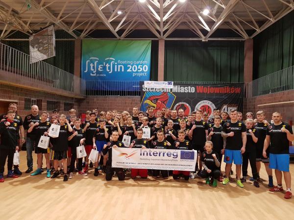 Die Teilnehmer des Trainingscamps 2019