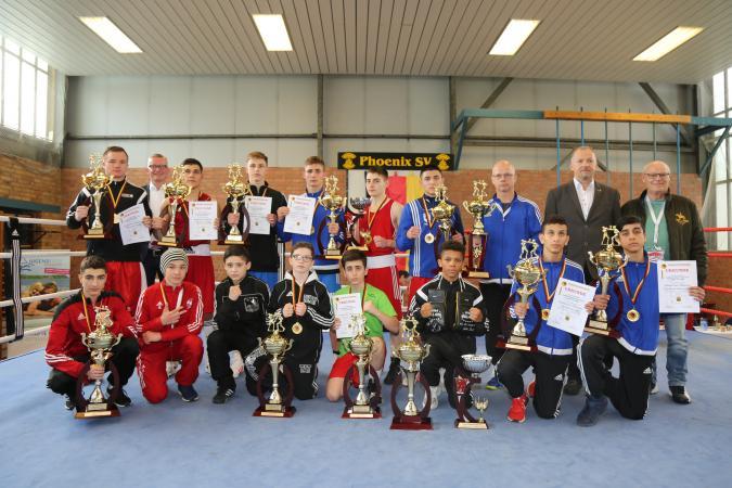 45.Deutsche Juniorenmeisterschaften Boxen 2017