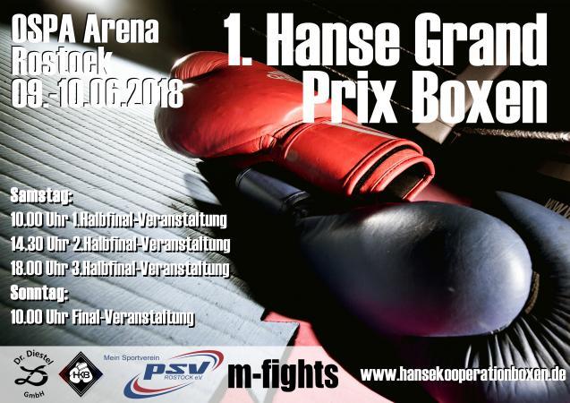1.Hanse Grand Prix Boxen