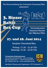 Binzer Baltic Box Cup